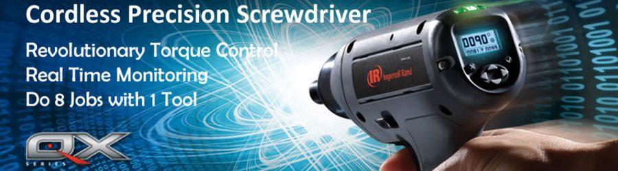 IR QX Cordless Precision Screwdriver